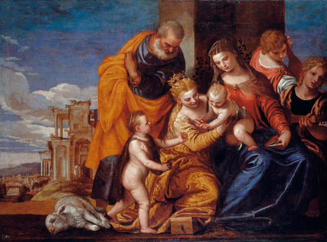Paolo Veronese, The Mystic Marriage of St Catherine of Alexandria, c1562–69. Oil on canvas, 148 x 199.5 cm. Royal Collection Trust © Her Majesty Queen Elizabeth II.
