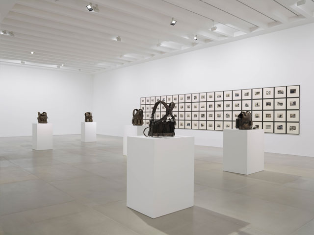 Jake and Dinos Chapman. Life and Death Vests; The Disasters of Everyday Life, 2017. Installation view, courtesy the artists and Blain|Southern. Photograph: Peter Mallet.