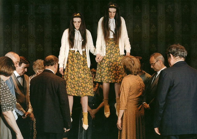 Sergio Caballero. Levitating twins in the SonarImage campaign of 2000.