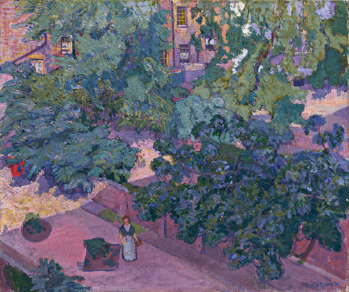 Spencer Gore. <em>The Fig Tree,</em> 1912. Oil on canvas &nbsp;635 x 762 mm. Bequeathed by JW Freshfield. &copy; Tate