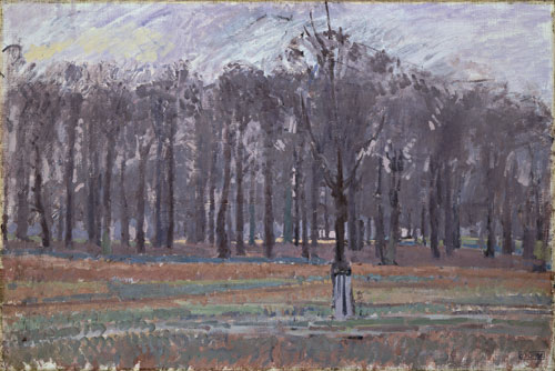 Spencer Gore. <em>Richmond Park,</em> 1913-14. Oil on canvas, 508 x 762 mm. Bequeathed by Lady Henry Cavendish-Bentinck, 1940. © Tate