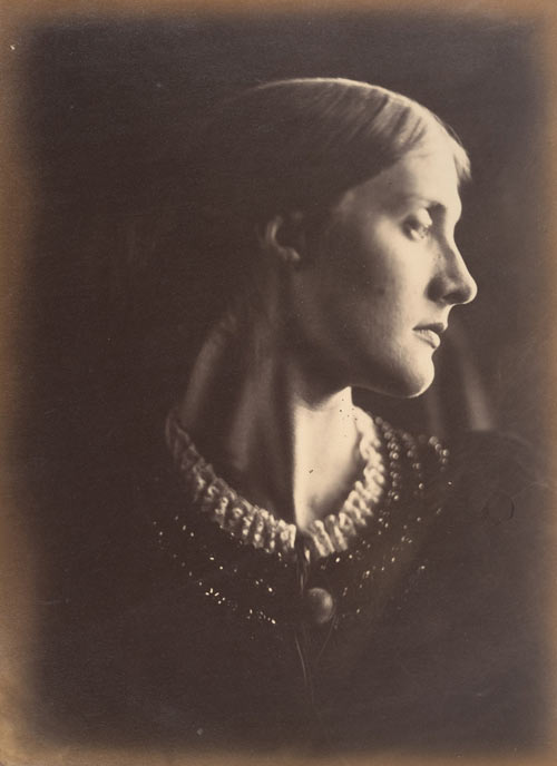 Julia Margaret Cameron. Mrs. Herbert Duckworth, 1867. Albumen silver print from glass negative. Gilman Collection, Purchase, Alfred Stieglitz Society Gifts, 2005. The Metropolitan Museum of Art.