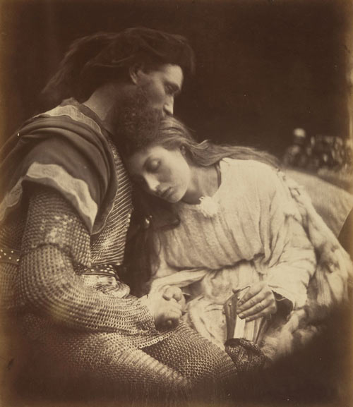 Julia Margaret Cameron. The Parting of Lancelot and Guinevere, 1874. Albumen silver print from glass negative. David Hunter McAlpin Fund, 1952. The Metropolitan Museum of Art.