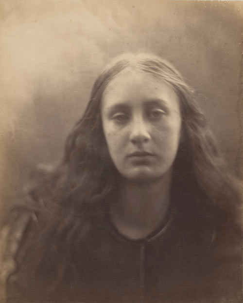 Julia Margaret Cameron. Christabel, 1866. Albumen silver print from glass negative. Harris Brisbane Dick Fund, 1941