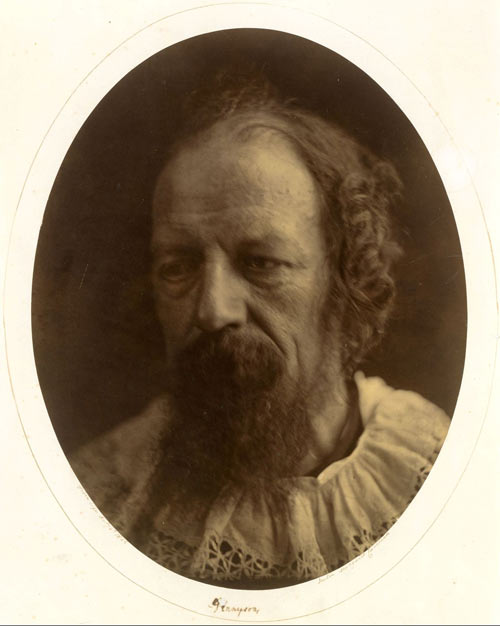 Julia Margaret Cameron. Alfred, Lord Tennyson, 4 July 1866. Albumen silver print from glass negative. The Rubel Collection, Purchase, Lila Acheson Wallace, Michael and Jane Wilson, and Harry Kahn Gifts, 1997. The Metropolitan Museum of Art.