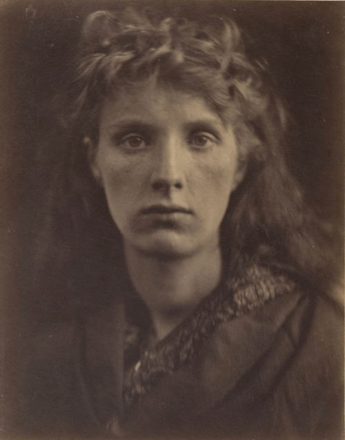 Julia Margaret Cameron. The Mountain Nymph Sweet Liberty, June 1866. Albumen silver print from glass negative. Harris Brisbane Dick Fund, 1941. The Metropolitan Museum of Art.