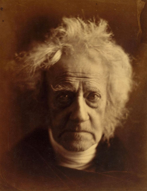 Julia Margaret Cameron. Sir John Herschel, April 1867. Albumen silver print from glass negative. The Rubel Collection, Promised Gift of William Rubel The Metropolitan Museum of Art.