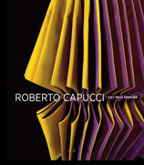 Roberto Capucci: Art into Fashion. Book cover.