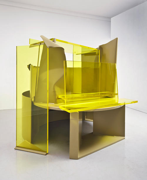 Anthony Caro. Autumn Rhapsody, 2011/12. Photograph: John Hammond. Image courtesy of Barford Sculptures Ltd.