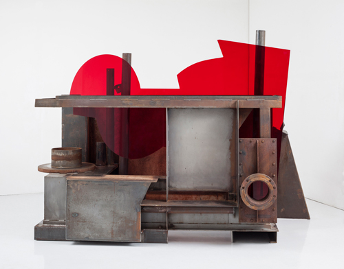 Anthony Caro. End of Time, 2013. Image courtesy of Barford Sculptures Ltd.
