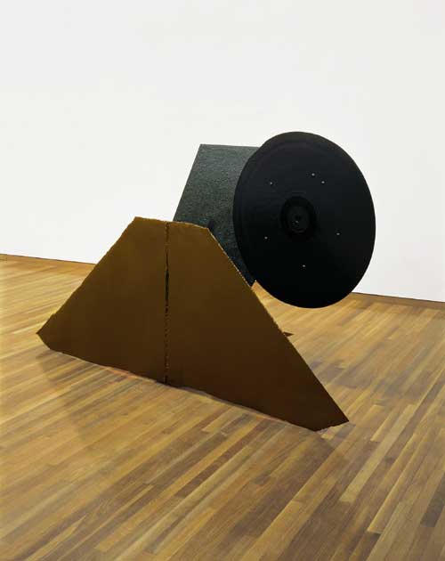 Anthony Caro (b.1924), Twenty Four Hours 1960. Steel, painted dark brown and black 138.4 x 223.5 x 83.8 cm. Tate. Purchased 1975 © the Artist, Barford Sculptures Ltd. Photography: Tate