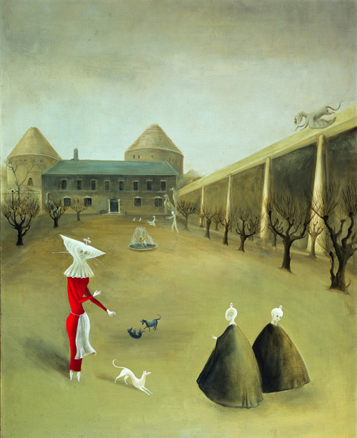 Leonora Carrington. Darvault, c1950. Oil on canvas, 80 x 65 cm. Collection Miguel S. Escobedo, © Estate of Leonora Carrington/ARS. Photograph: Pim Schalkwijk