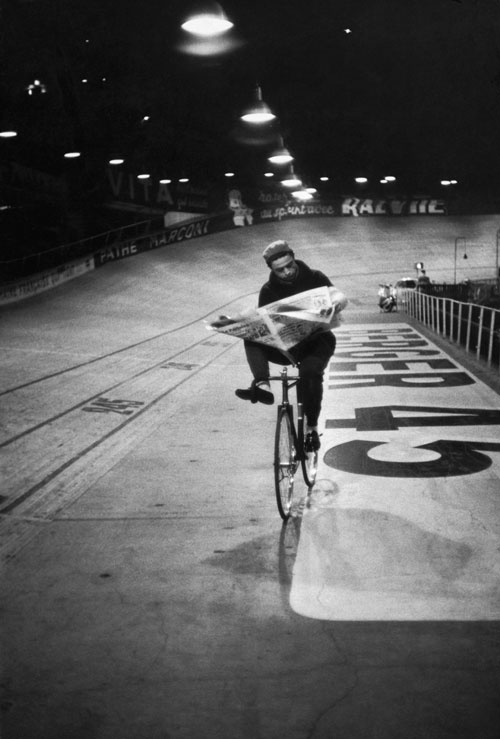 Henri Cartier-Bresson. Course cycliste