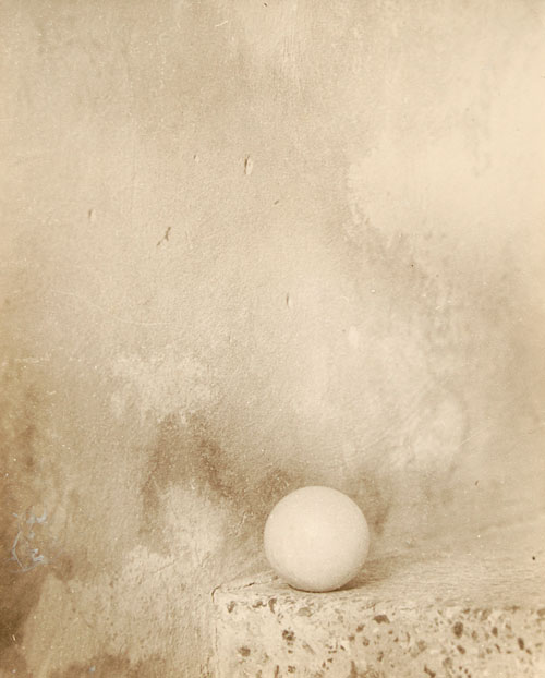 Giuseppe Cavalli. <em>The Little Ball</em>, 1949. Gelatin silver print, 30 x 24 cm. Prelz Oltramonti Collection, London.