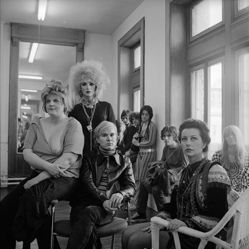 Cecil Beaton.<em> Andy Warhol and members of the Factory, New York City,</em> 1969. &copy; Cecil Beaton Studio Archive at Sotheby&rsquo;s. Courtesy Cecil Beaton Studio Archive at Sotheby&rsquo;s.