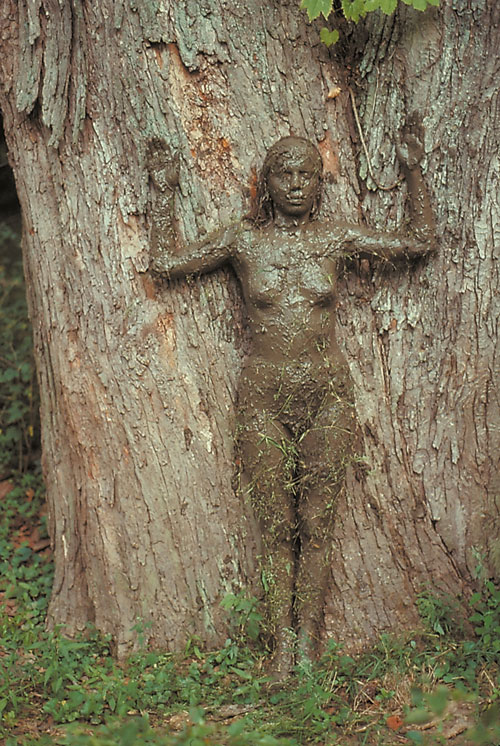 Ana Mendieta. Tree of Life, 1976. Colour photograph, 50.8 x 33.7 cm. Collection Raquelin Mendieta Family Trust.