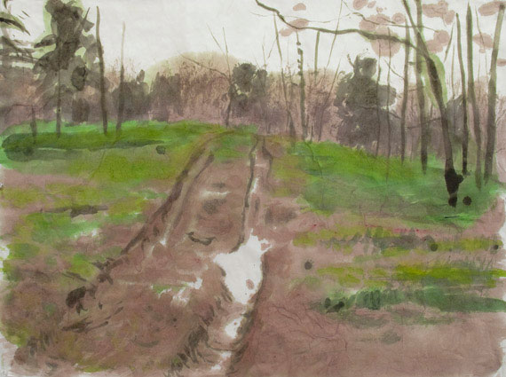 Enrique Martinez Celaya. <em>The Road</em>, 