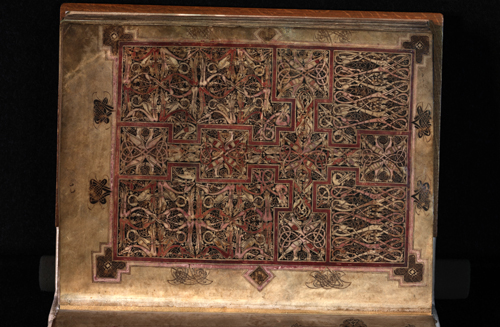 St Chad gospels. Vellum, AD 700–800. Used by permission of the Chapter of Lichfield Cathedral.