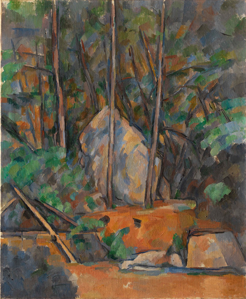Paul Cézanne (1839–1906). Cistern in the Park of the Château Noir, c1900. Oil on canvas, 74.3 x 61 cm. © The Henry and Rose Pearlman Collection. Photograph: Bruce M. White.
