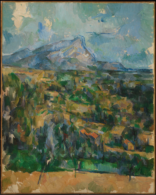 Paul Cézanne (1839–1906). Mont Sainte-Victoire, c1902. Oil on canvas, 83.8 x 65.1 cm. © The Henry and Rose Pearlman Collection. Photograph: Bruce M. White.