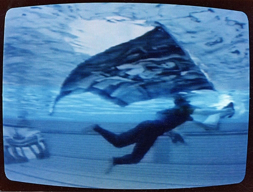 Valera & Natasha Cherkashin. German Atlantis, 1996. Underwater installation, Olympia swimming pool, Berlin.