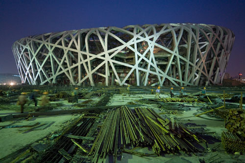 National Stadium - The Main Stadium for the 2008 Olympic Games, Beijing © Herzog & de Meuron