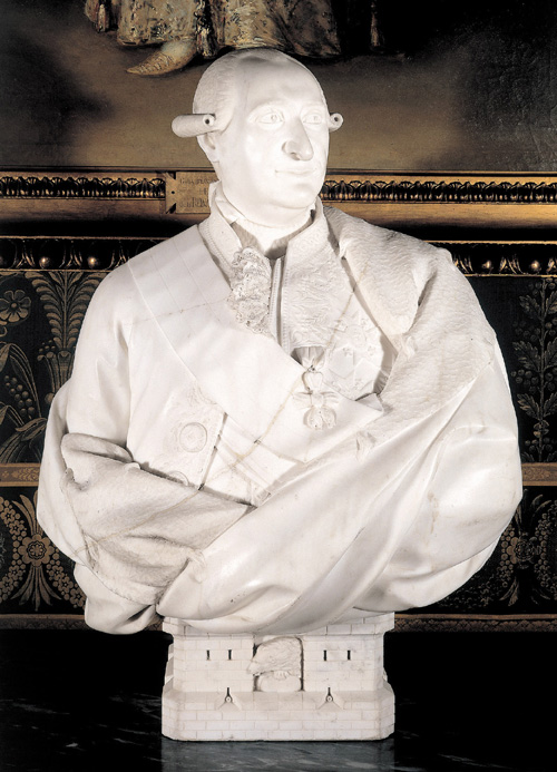 Juan Adan Morlan. <em>Charles IV, King of Spain</em>, 1797. Marble, 87 x 62 x 40 cm. Patrimonio Nacional, Palacio Real de Madrid, 10002969 Photo: Patrimonio National, Madrid