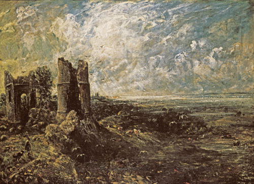 John Constable. Sketch for 'Hadleigh Castle' c1828–9. Tate.