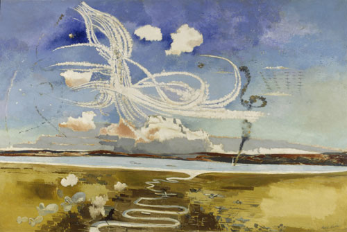 Paul Nash. Battle of Britain, 1941. © Imperial War Museums.