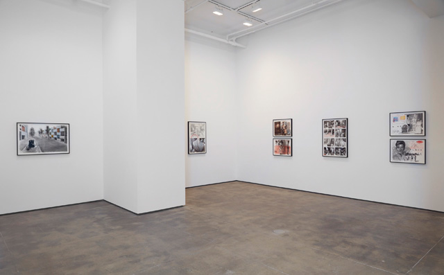 David Claerbout. Installation view (3) of LIGHT/WORK at Sean Kelly, New York, 19 March – 30 April 2016. Photograph: Jason Wyche. Courtesy of Sean Kelly, New York.