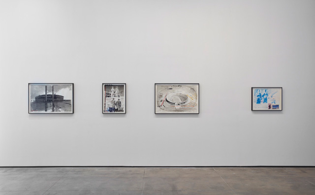 David Claerbout. Installation view (4) of LIGHT/WORK at Sean Kelly, New York, 19 March – 30 April 2016. Photograph: Jason Wyche. Courtesy of Sean Kelly, New York.