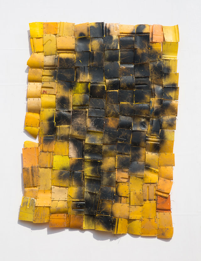 Serge Attukwei Clottey. Soul Food, 2016. Courtesy the artist and Gallery 1957, Accra.