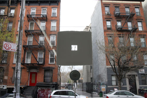 Seth Cluett: The Persistence of Traces, 2014. Installation view (3), Audio Visual Arts, New York.
