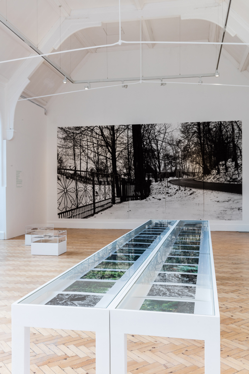 Hannah Collins. Installation view (4), Camden Arts Centre, London. Photograph: Mark Blower.
