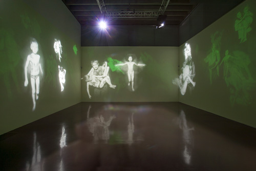 Mat Collishaw, The New Art Gallery, Walsall. Installation view. Image courtesy the artist and Blain|Southern. Photograph: Jonathan Shaw.