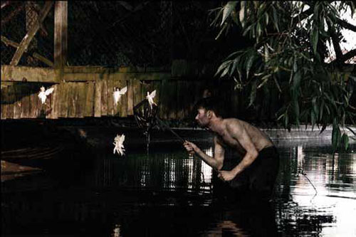 Mat Collishaw. Catching Fairies 4, 1996. C-type photograph, 45cm x 65cm. Courtesy of the artist and Blain|Southern.