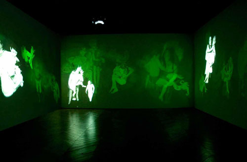 Mat Collishaw. Deliverance installation, 2008. Courtesy of the artist and Blain|Southern.