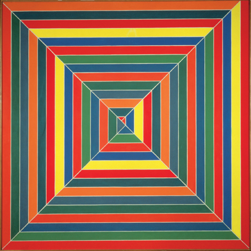 Frank Stella. <em>Hyena Stomp</em>, 1962. Copyright © ARS, NY and DACS, London 2008.