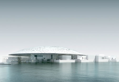 Louvre Abu Dhabi. Architect: Ateliers Jean Nouvel. Developer: TDIC (Tourism Development & Investment Company).
