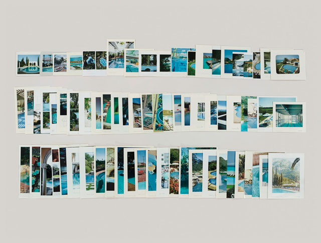 Taryn Simon. Folder: Swimming Pools, 2012. Archival inkjet print, 119.4 x 157.5 cm (47 x 62 in). Courtesy of Gagosian Gallery.
