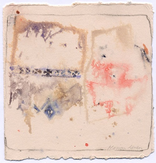 Marion Leven . Untitled. Work on paper. 5