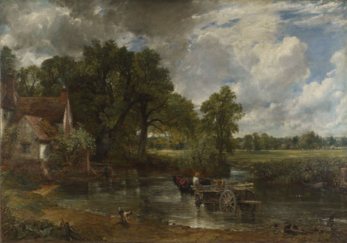 John Constable. The Hay Wain, 1821. Oil on canvas. © The National Gallery, London 2014.