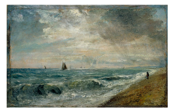 John Constable. Hove Beach, c1824-28. © Victoria and Albert Museum, London.