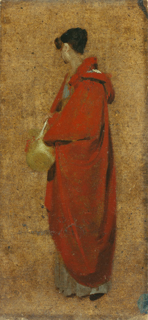 John Constable. <em>A Girl in a Red Cloak</em> (Mary Constable), 1809. Copyright: Private Collection