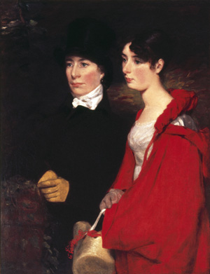 John Constable. <em>Ann and Mary Constable</em>, 1814.    Trustees of the Portsmouth Estates. Copyright: Reproduced by permission of the Wallop Family