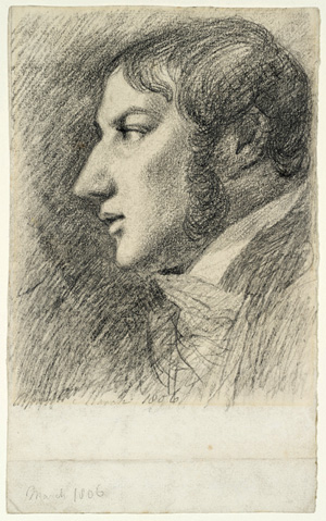 John Constable. <em>Self-portrait</em>, March 1806. Copyright: Tate, London 2009