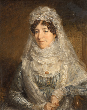 John Constable. <em>Mrs Edwards</em>, circa 1818. Copyright: Museum of Art, Rhode Island School of Design. Corporate Membership Fund.