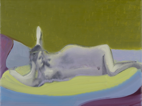 Daniel Coombs. Nude, 2014. Oil on canvas, 60 x 45 cm. © the artist.