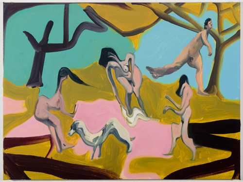Daniel Coombs. The Bathers, 2012. Oil on canvas, 60 x 45 cm. © the artist.