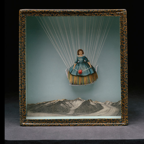 Joseph Cornell. Untitled (Tilly Losch), c1935-38. Box Construction, 25.4 x 23.5 x 5.4 cm. Collection of Robert Lehrman, courtesy of Aimee and Robert Lehrman. Photograph: The Robert Lehrman Art Trust, courtesy of Aimee and Robert Lehrman. Photography: Quicksilver Photographers, LLC. © The Joseph and Robert Cornell Memorial Foundation/VAGA, NY/DACS, London 2015.